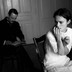 "Michael Fassbender and Keira Knightley in ""A Dangerous Method"""