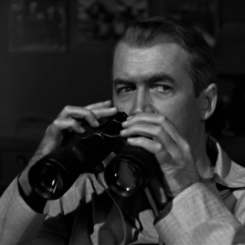 "Cary Grant in ""Rear Window"""