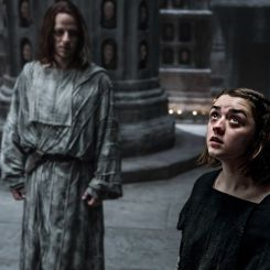 "Arya Stark (Maisie Williams) becoming ""No One"" in GoT"